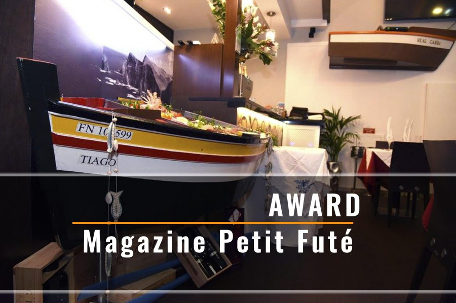 Award French magazine Petit Futé
