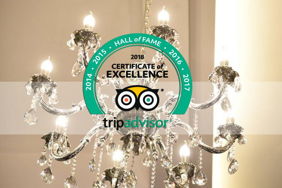 SPECIAL CERTIFICATE – TRIPADVISOR HALL OF FAME